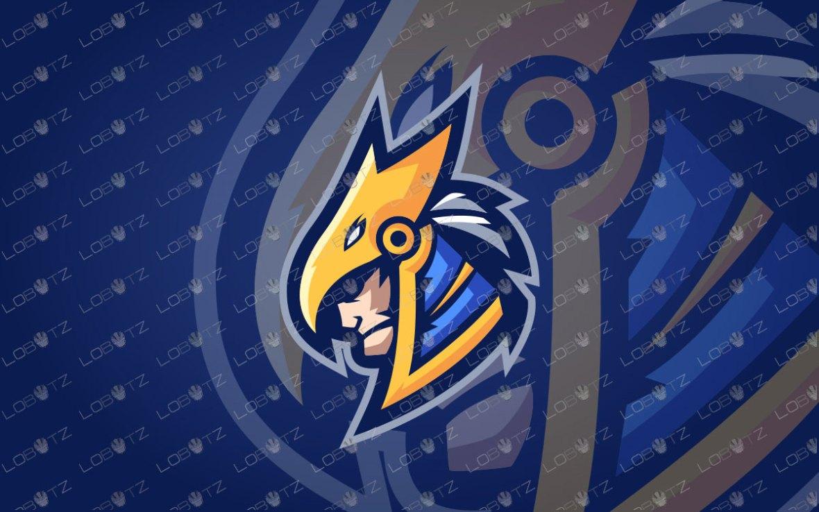 Majestic Horus Mascot Logo | Horus eSports Logo | RA Mascot Logo
