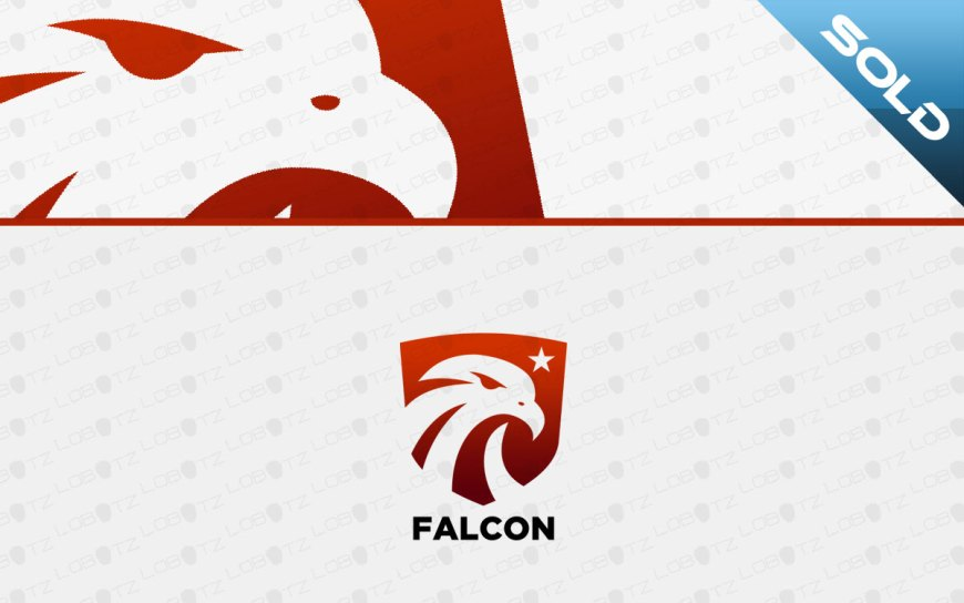 falcon shield logo for sale