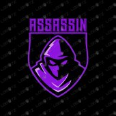 Assassin Mascot Logo For Sale | Premade Assassin ESports Logo