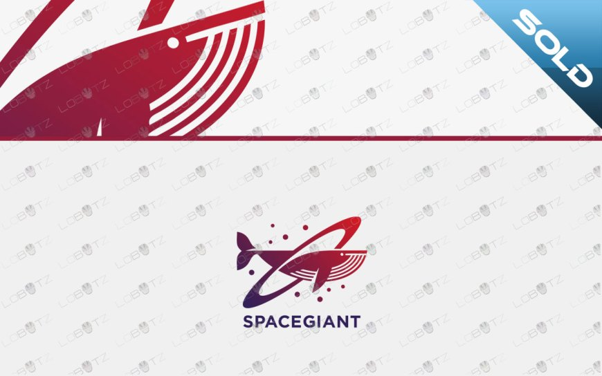 Creative Whale Logo For Sale Modern Whale Logo