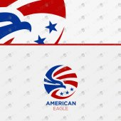 American Eagle Logo | Premade Eagle Logo For Sale