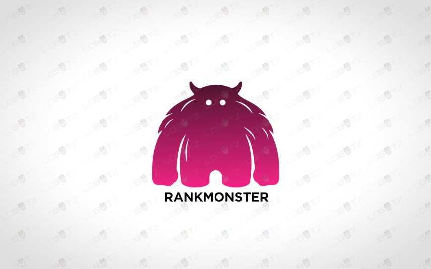 Monster Logo Cute Character Logo For Sale