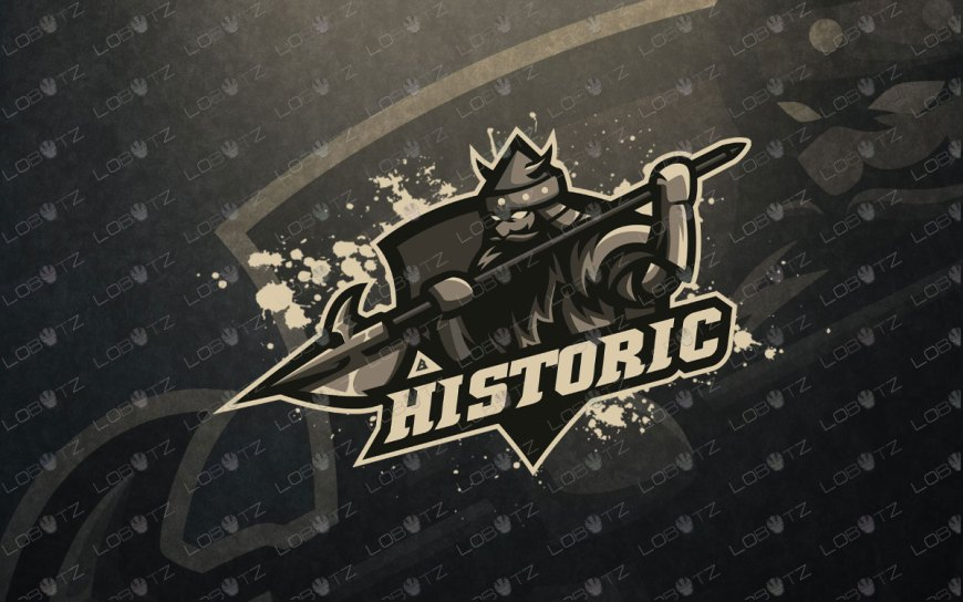 Gaming Logo | Premade Knight King Mascot Logo