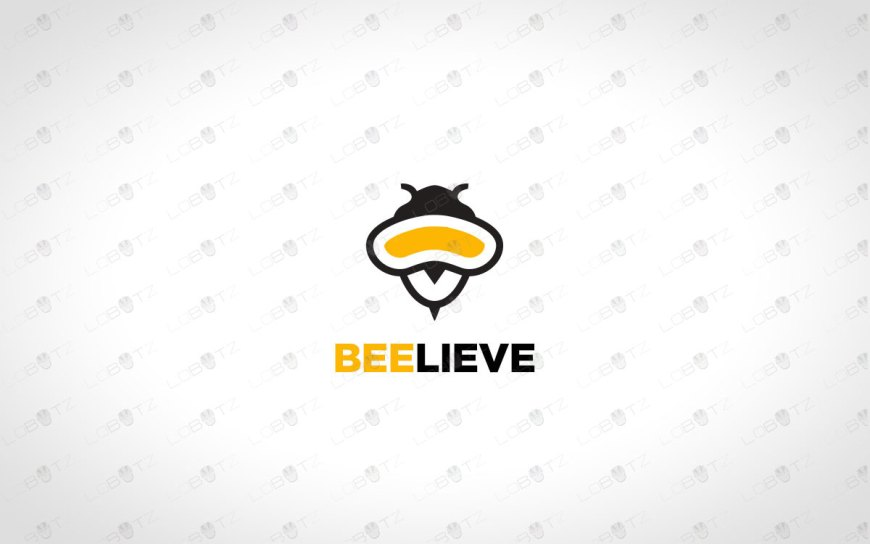 Creative Bee Logo For Sale | Buy Logo Online