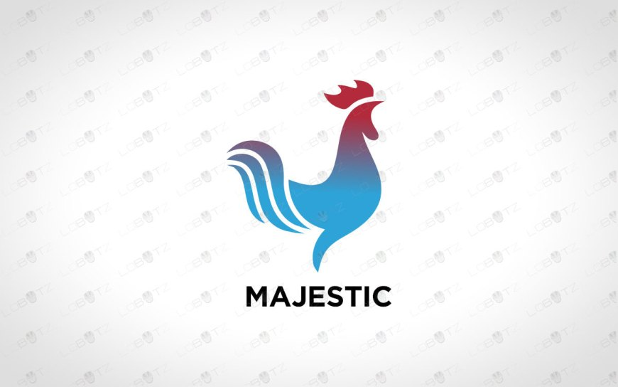 Rooster Logo For Sale | Premade Logos