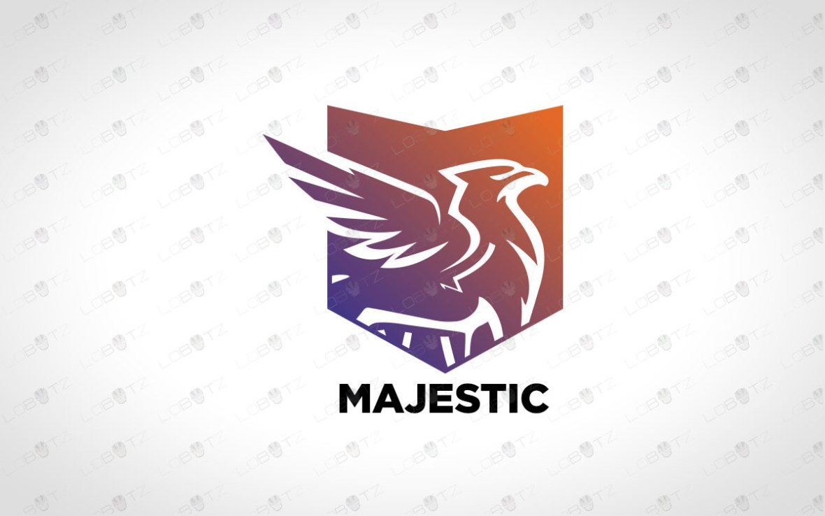 Majestic Griffin Logo For Sale – Premade Business Logo