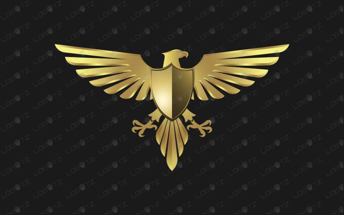 Eagle Logo   Striking Premium Eagle Brand Logo For Sale