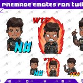 Apex Legends Bangalore Emotes | Premade Twitch Emotes Bangalore