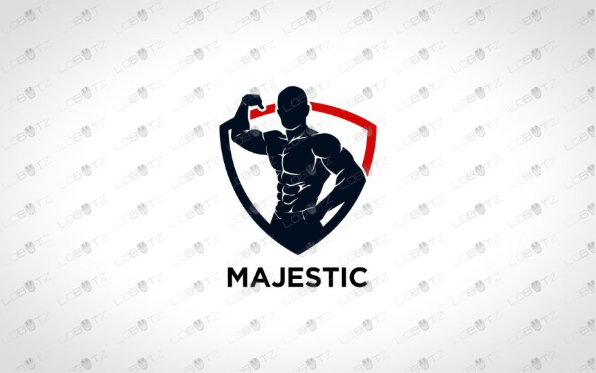 Gym Logo For Sale | Premade BodyBuilding Logo