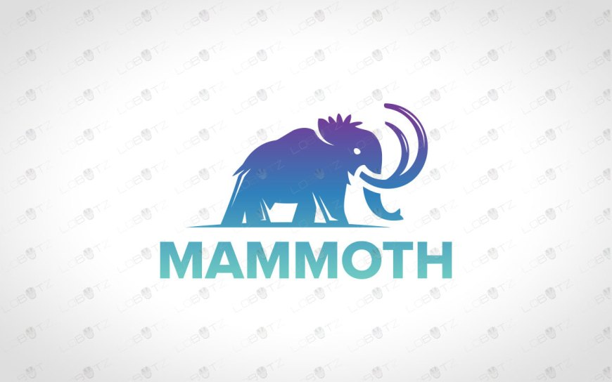 Premade Mammoth Logo For Sale