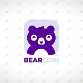 Premade Bear Logo | Magnificent Bear Logo For Sale