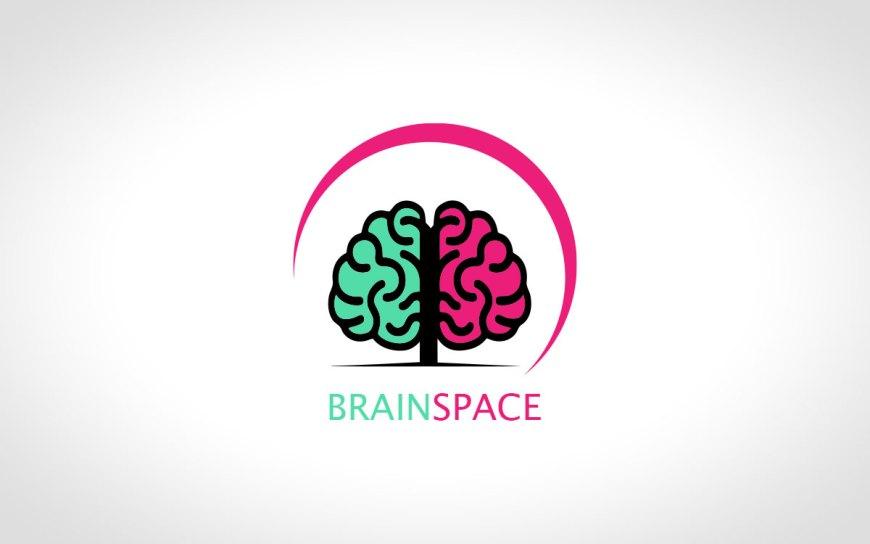 Premade Brain Tree Logo For Sale