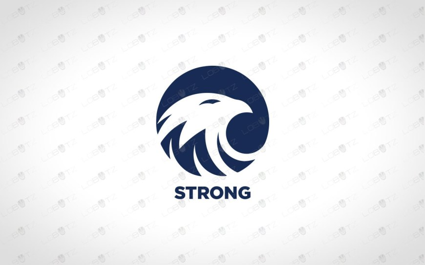 Premade Eagle Logo | Eagle Head Logo For Sale