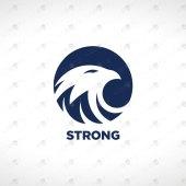 Premade Eagle Logo   Eagle Head Logo For Sale