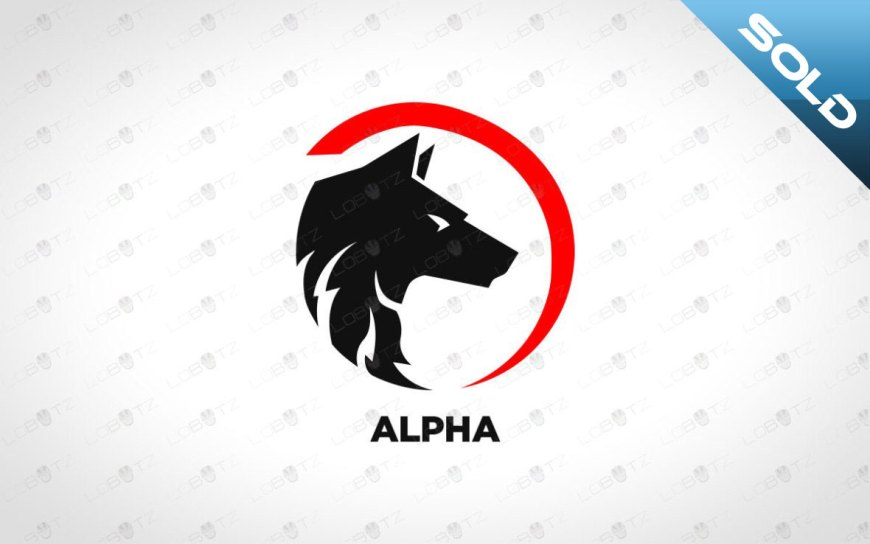 Wolf Logo For Sale | Strong Wolf Logo For Sale