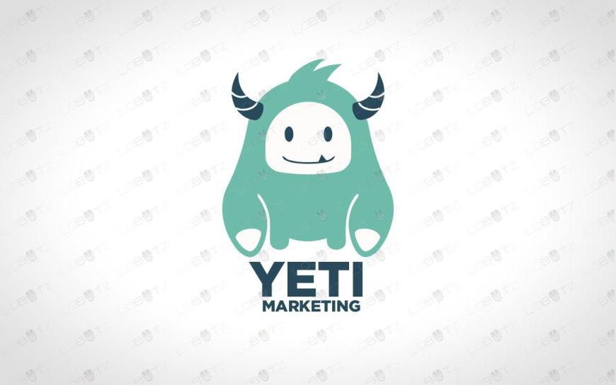 Premade Yeti Logo For Sale