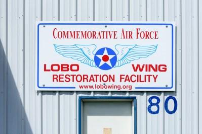 We're located at hangar 80