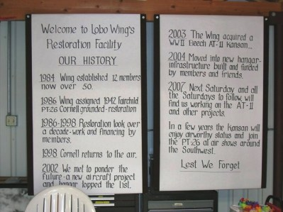Short history of the Lobo Wing