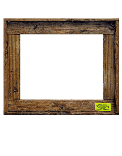 """Single"" Slat Frame"