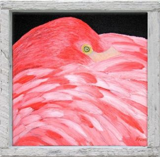 """Fluffy Flamingo"""