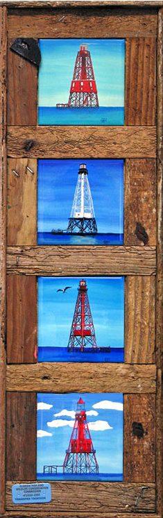 """Florida Keys Reef Lighthouses"""
