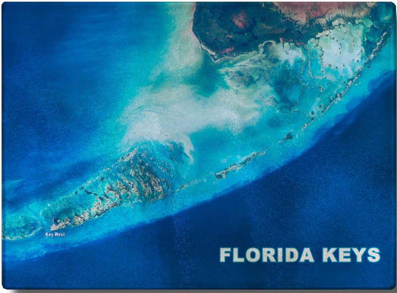 """Florida Keys Satellite View"""