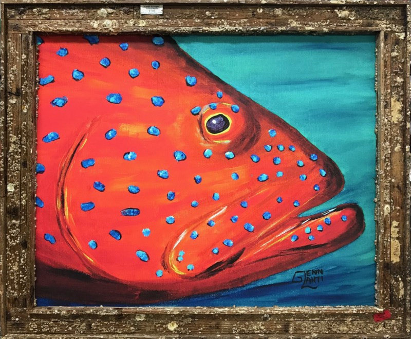 Coral Grouper Giclee
