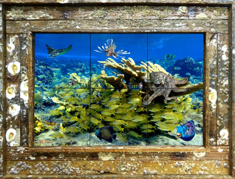 Freeport Reef Tile Mural
