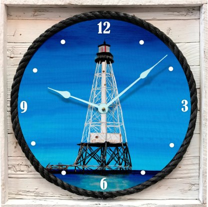 Alligator Reef Lighthouse Clock