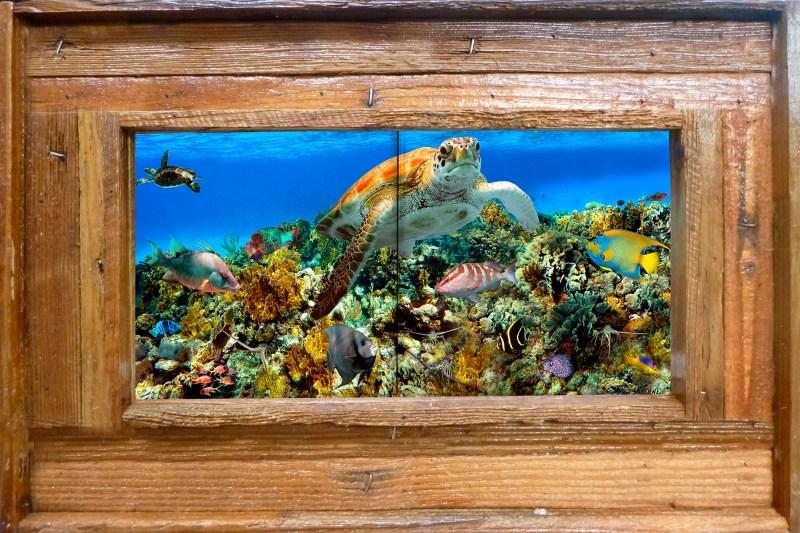 "8""x16"" Tile Mural Double Slat $179"