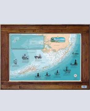 Charts of the Florida Keys