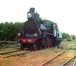 Steam Engine Kompaund with a Shmidt Super-heater