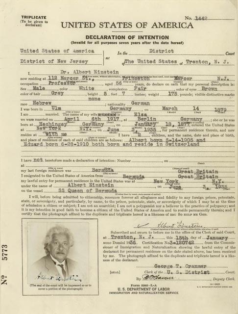 New Jersey Birth Certificate Sample