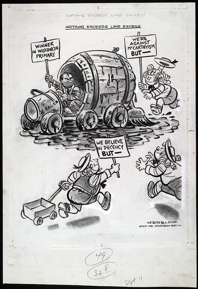 Fire Herblock S History Political Cartoons From The