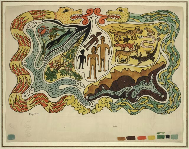 Image result for diego rivera the creation