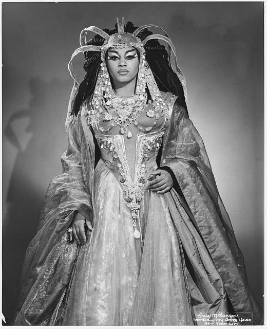 <b>Leontyne</b> <b>Price</b> (b. 1927) as <b>Cleopatra</b>