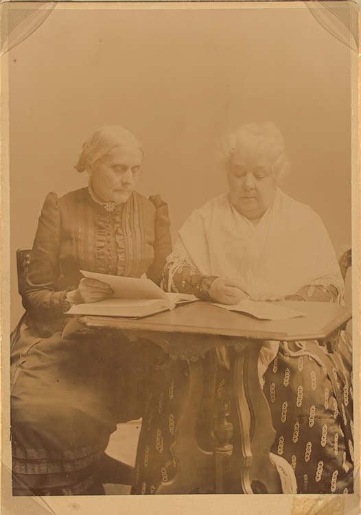 Susan B. Anthony & Elizabeth Cady Stanton