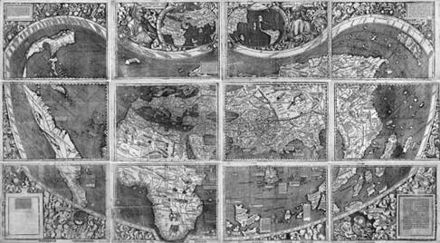 El mapa que dóna nom a Amèrica