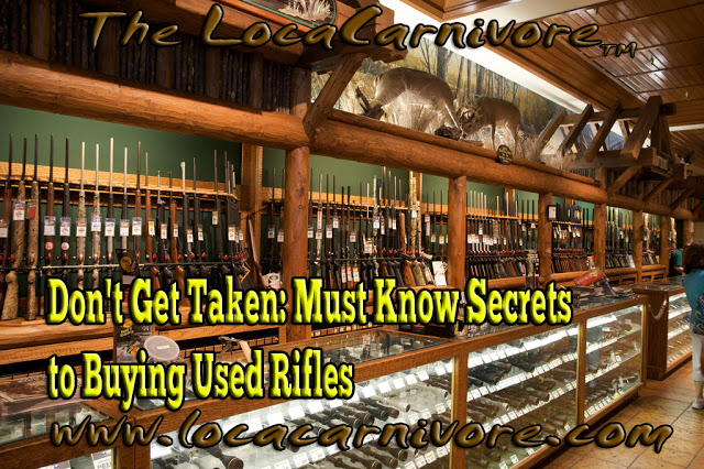 Don't Get Taken: Must Know Secrets to Buying Used Rifles