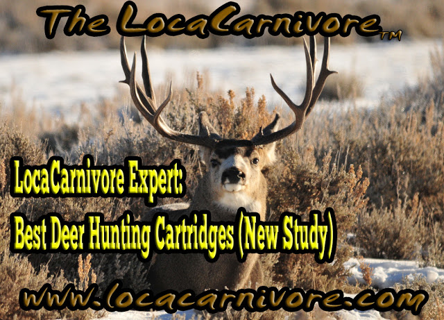 LocaCarnivore Expert: Best Deer Hunting Cartridges (New Study)