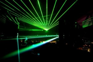 CB&I Barcelona Gala Laser Show