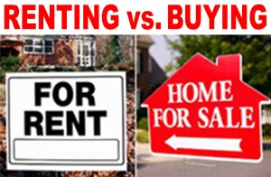 Renting an Apartment vs Buying a Home - local records office