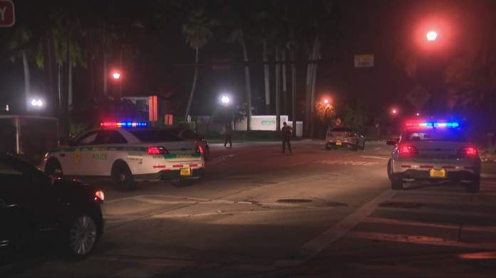 Scene of fatal shooting in northwest Miami-Dade.