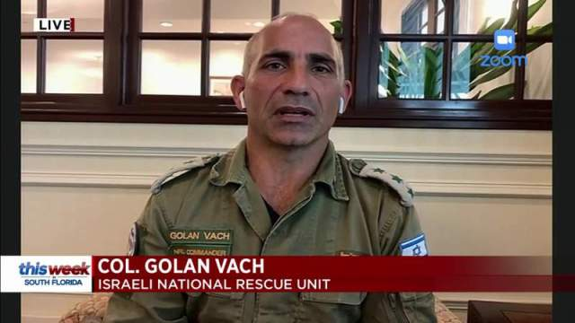 This Week In South Florida: Israeli Colonel Golan Vach
