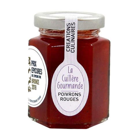 Local'Aude confit de poivrons rouge au piment d'espelette trésors de campagne