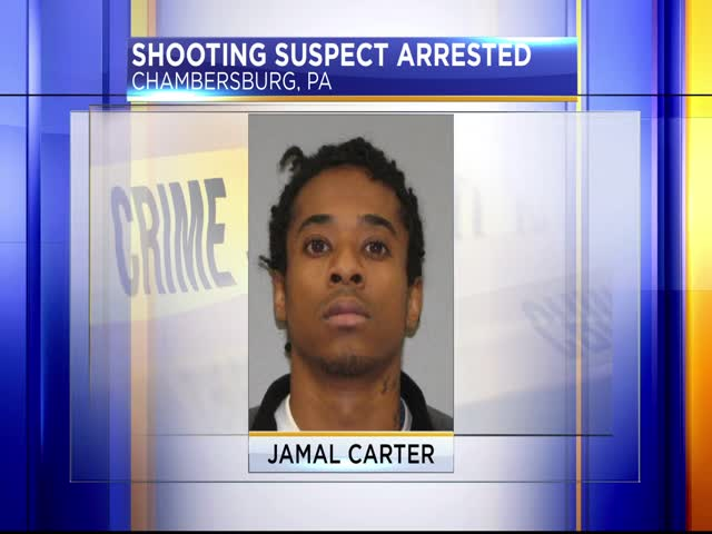 Chambersburg shooting suspect arrested_28463597-159532
