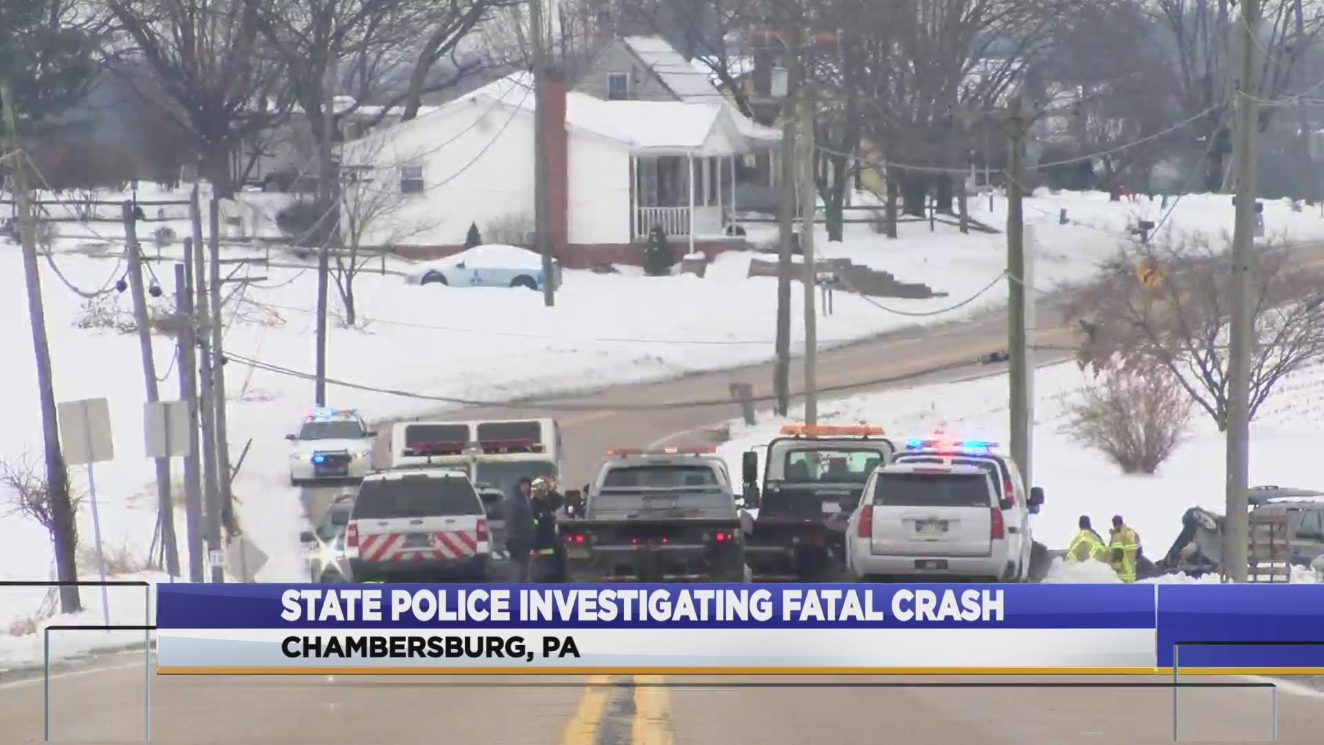 Fatal crash in Franklin County under investigation