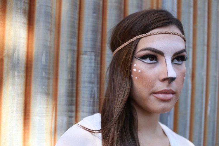 Deer-Halloween-Makeup