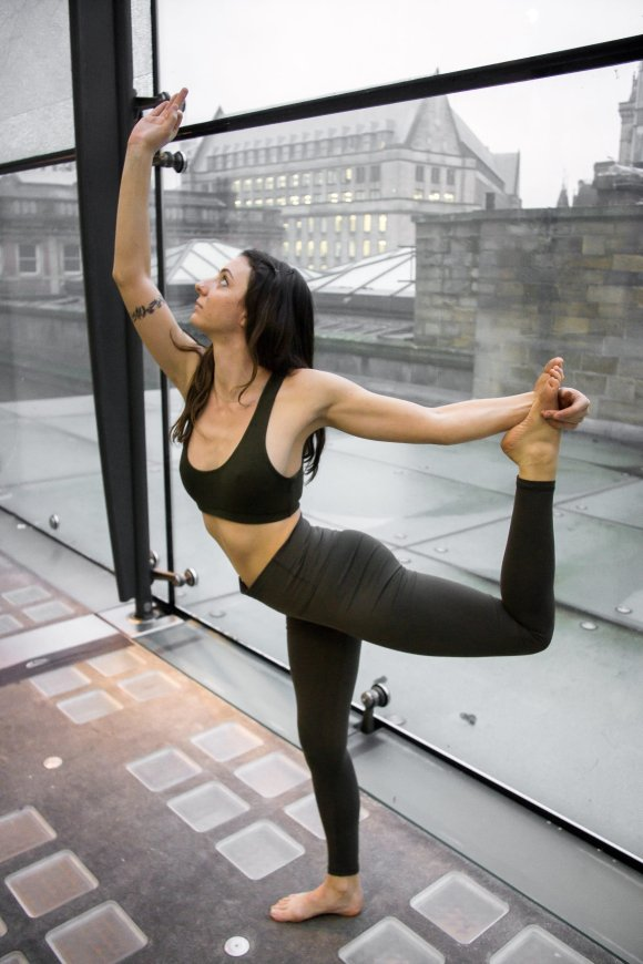 Online yoga class based in Manchester