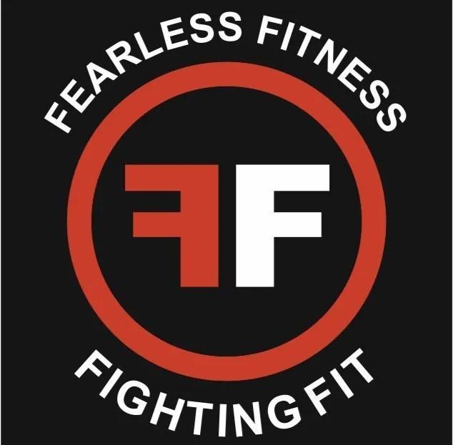 Fearless Fitness logo boxing fitness in Coatbridge